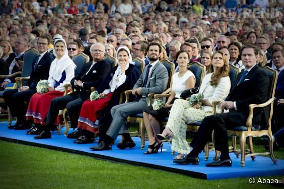 Toute la famille était réunie ce 14 juillet au stade deBorgholm pour le Victoria Day.
