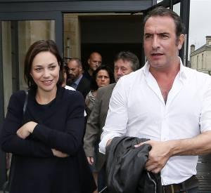 Nathalie Péchalat et Jean Dujardin, un couple discret et charmant.