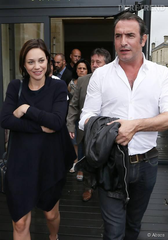 Nathalie p chalat et jean dujardin un couple discret et for Jean dujardin en couple