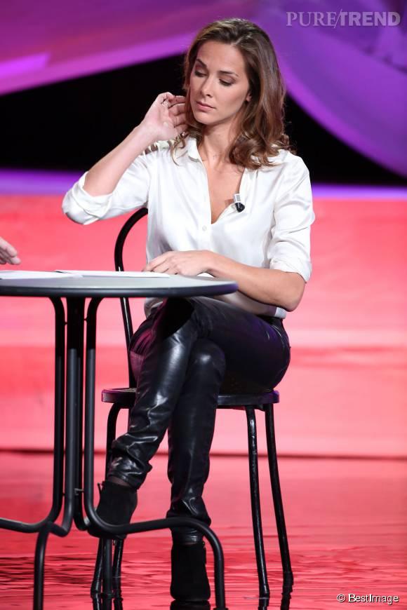 Quelques détails suffisent à Melissa Theuriau pour être très glamour.