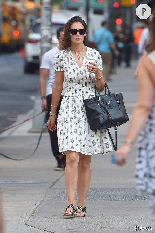Katie Holmes à Manhattan le 13 juillet 2015.
