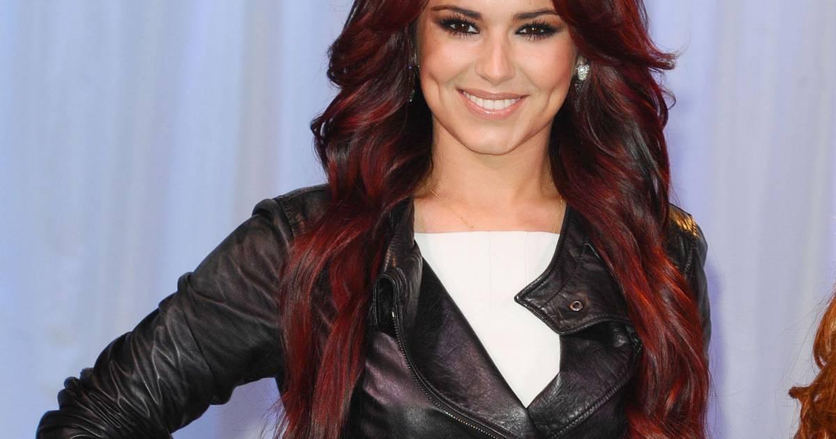 Inspiration Coloration Rouge Une Nuance Fonc E Comme Cheryl Cole