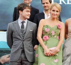 Daniel Radcliffe et J.K. Rowling. Une belle rencontre.