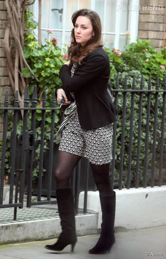 Kate Middleton et ses timides rondeurs avant de devenir duchesse.