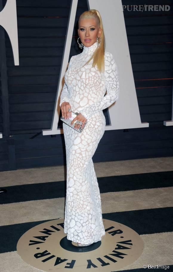 2015 : La nouvelle silhouette de Christina Aguilera.