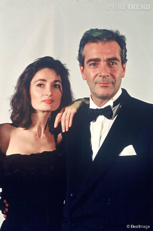 Pierre Arditi et Evelyne Bouix, presque 30 ans que ça dure.