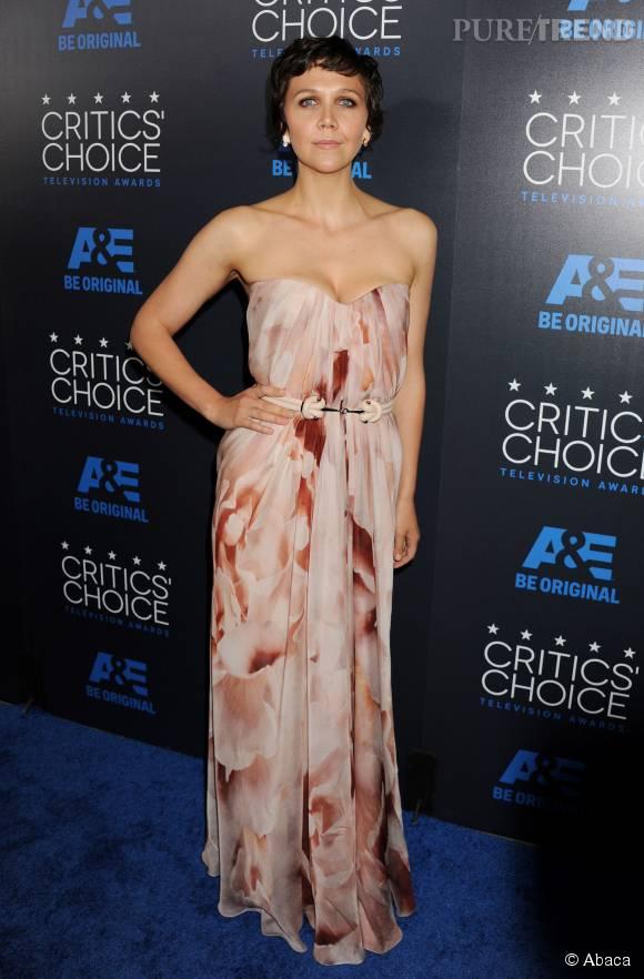 """Maggie Gyllenhaal est notamment connue pour avoir joué dans """"The Dark Knight""""."""