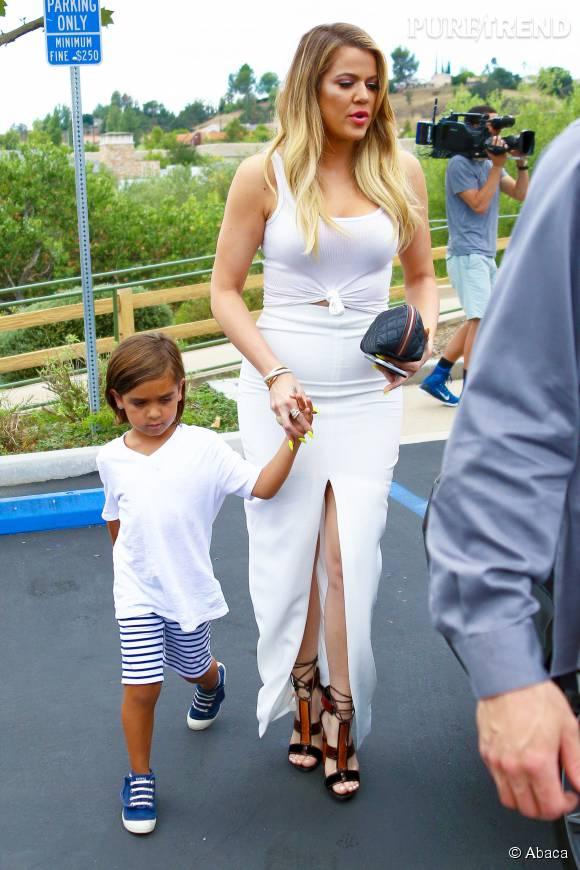 Khloe Kardashian et son neveu, Mason Disick.