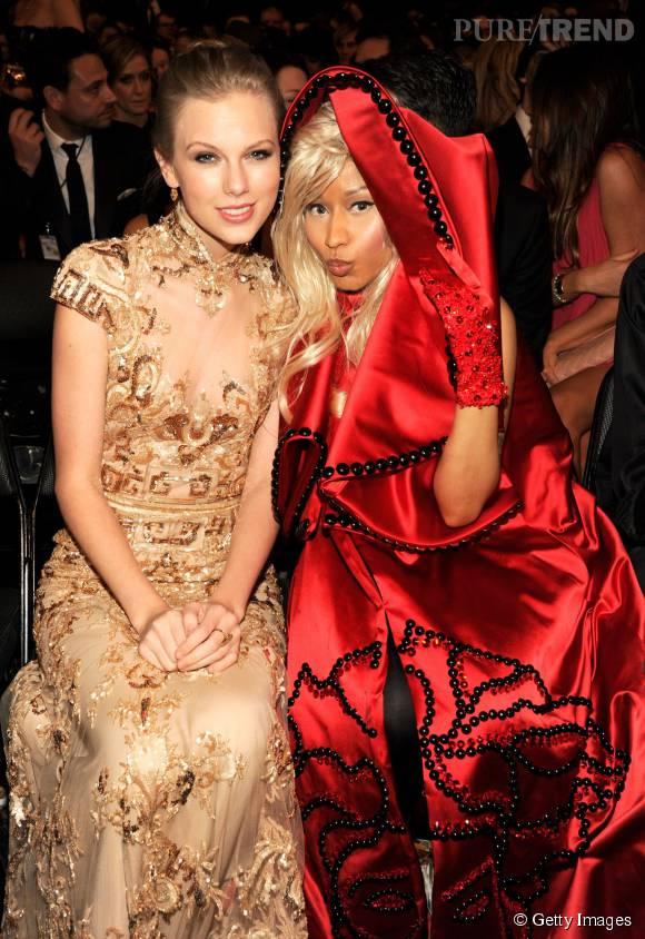 Taylor Swift et Nicki Minaj plus si copines que ça.