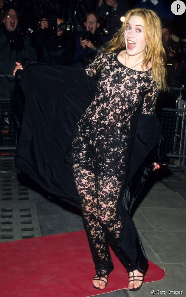 En 1996, Kate Winslet n'a que 21 ans et le bon goût ne semble pas encore avoir prit le chemin de son dressing.