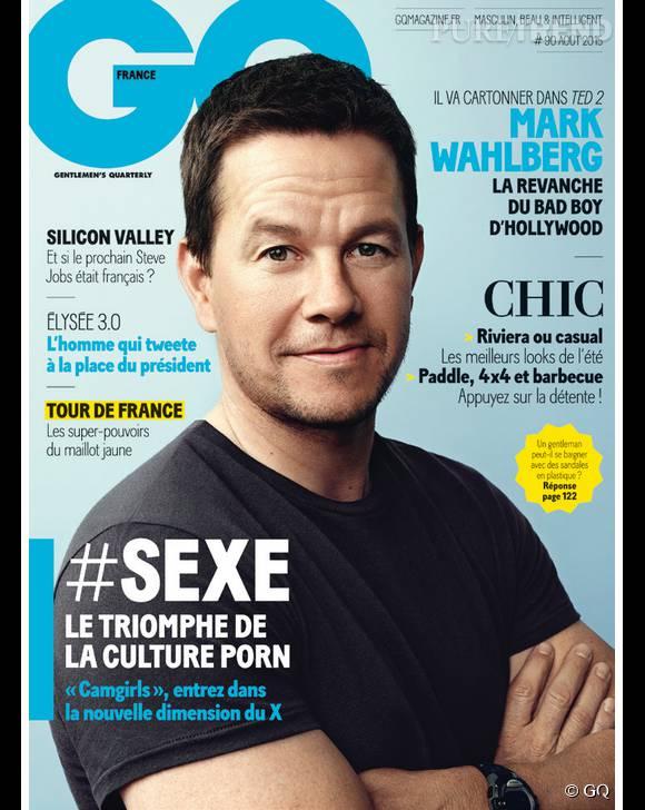 Mélanie Bernier est interviewée par  GQ  dans le numéro du mois d'août.