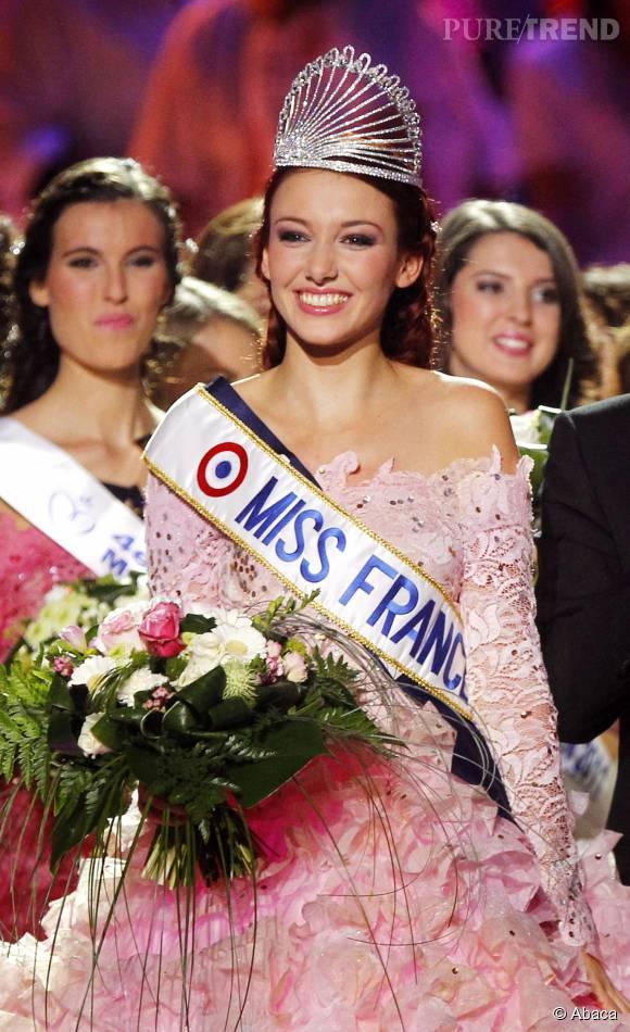 Le titre de miss France 2012 ferme des portes à Delphine Wespiser.