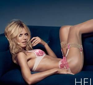 Heidi Klum : Egérie hot à 42 ans pour sa propre marque de lingerie