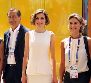 Letizia Ortiz se dévergonde à Milan pour l'Exposition Universelle