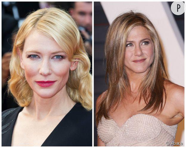 Cat Blanchett et Jennifer Aniston ont toutes deux 46 ans.