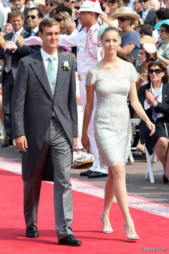Beatrice Borromeo portait une robe Valentino pour son mariage civil