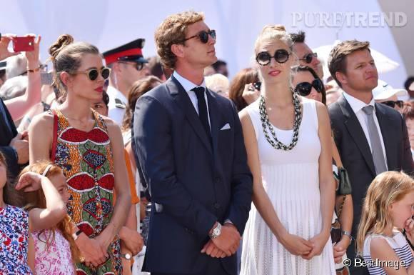 Beatrice Borromeo, Pierre Casiraghi et Charlotte Casiraghi pour les 10 ans de règne du prince Albert !