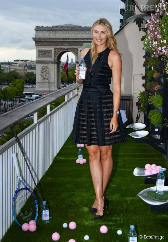 Maria Sharapova est de retour sur le marché du célibat. La beauté russe d'1,88m est un coeur à prendre !