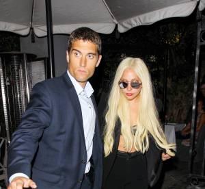 Lady Gaga, garde du corps canon et soutien-gorge pour une soirée entre amis