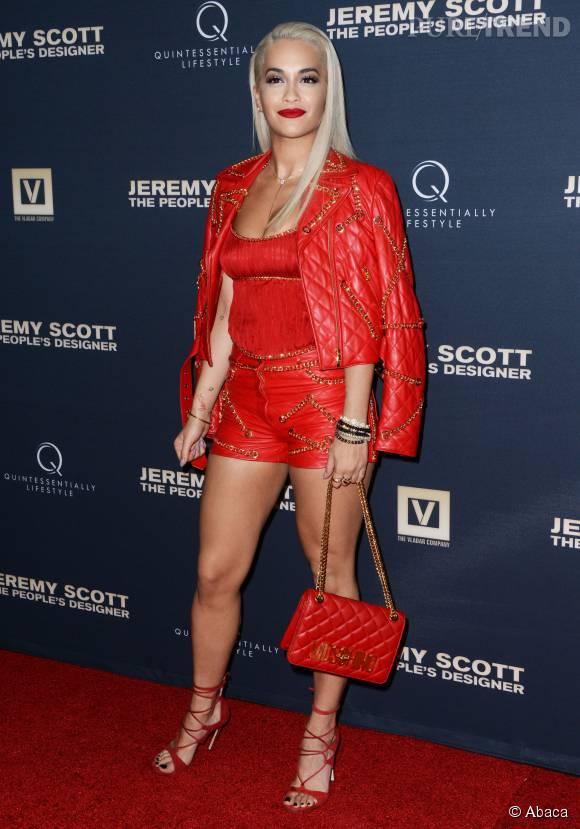Rita Ora, toujours plus sulfureuse. Jusqu'où ira-t-elle ?