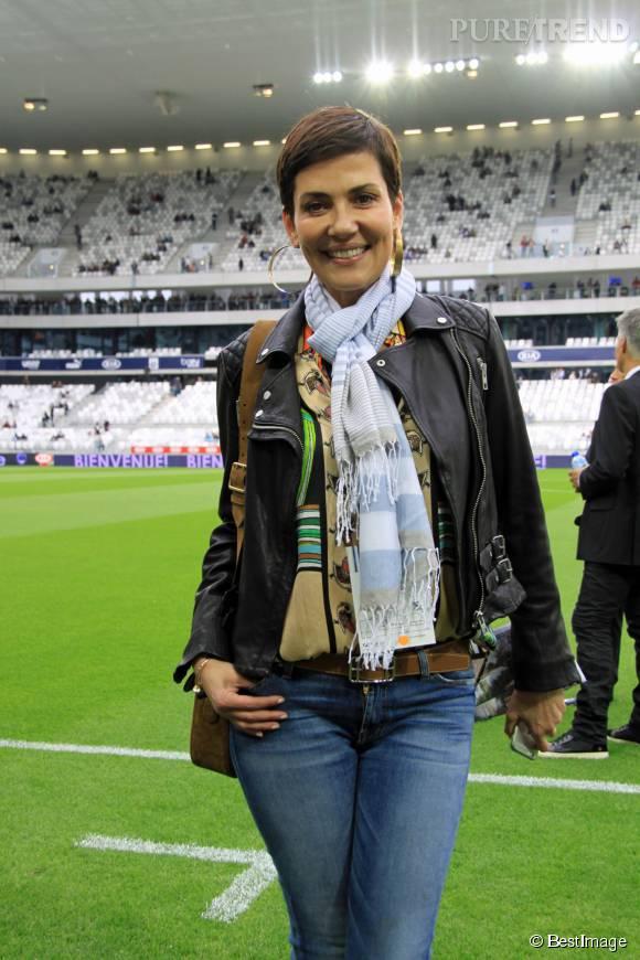 Cristina Cordula, une styliste toujours souriante