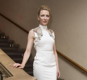 Cate Blanchett : impériale dans sa robe immaculée au BFI London Film Festival
