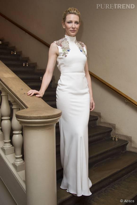 Cate Blanchett, impériale dimanche 18 octobre au BFI London Film Festival.