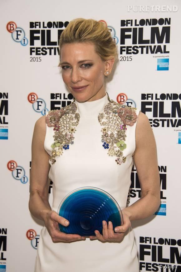 Cate Blanchett a remporté le prix BFI Fellowship au Festival du film de Londres.