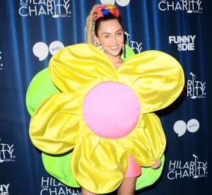 Miley Cyrus habillée en fleur pour un gala de charité : la provoc de trop ?