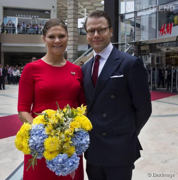 La princesse Victoria de Suède est en voyage officiel à Lima au Pérou depuis le 18 octobre 2015.