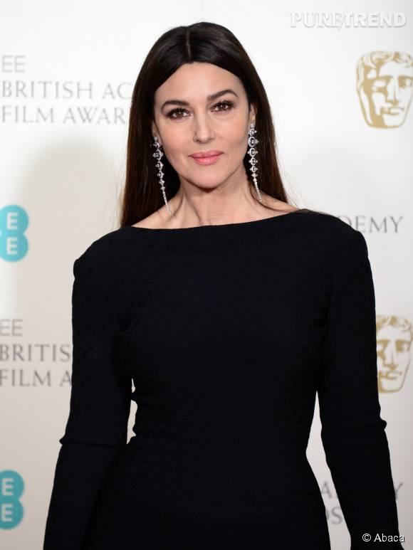 """Monica Bellucci s'est récemment dite """"à l'aise"""" dans les scènes de sexe avec Daniel Craig."""