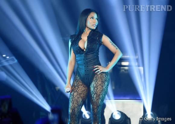 Nicki Minaj ultra sexy lors du concert TIDAL x 1020 à New York le 20 octobre 2015.