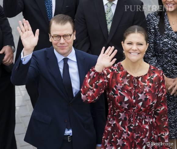 La princesse Victoria et Daniel sont au Pérou en visite officielle.