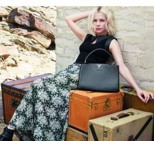 Collection Croisière 2016 de Louis Vuitton avec Michelle Williams.