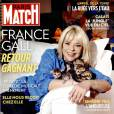 France Gall fait la couverture du  Paris Match  n°3466 du 22 au 28 octobre.