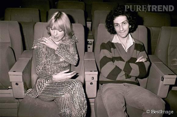 France Gall et Michel Berger, un couple culte de la chanson française.
