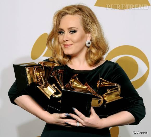"""Depuis la sortie de son précédent album, """"21"""", Adele s'est mariée et est devenue maman."""
