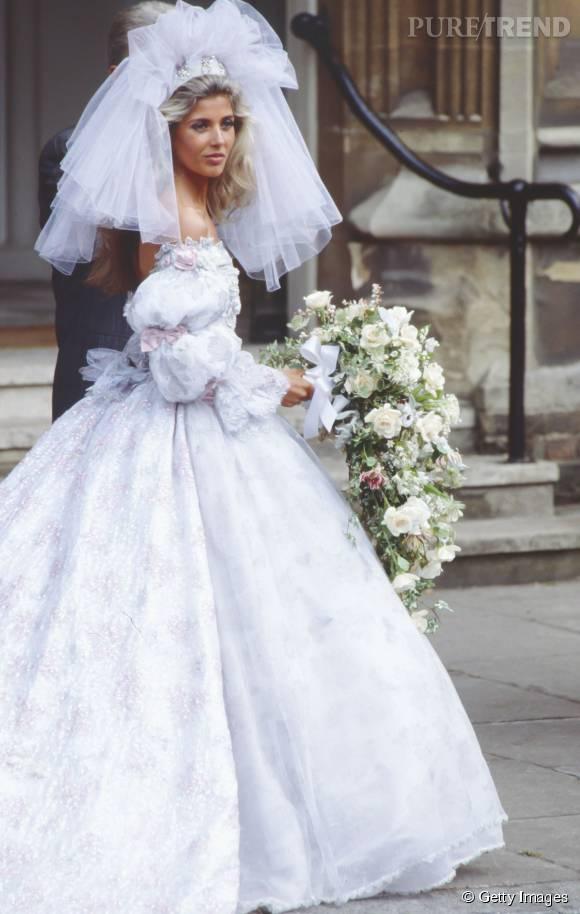 Robe de mariée de 1980.