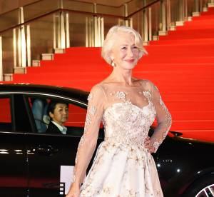 Helen Mirren 70 ans et canon, elle ose la robe transparente
