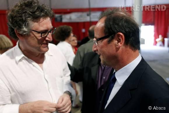 Sans compter que Michel Onfray a également l'air de beaucoup apprécier François Hollande...