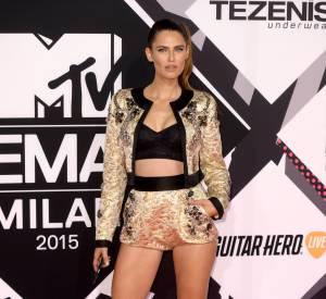 Bianca Balti aux MTV EMA le 25 octobre 2015 à Milan.