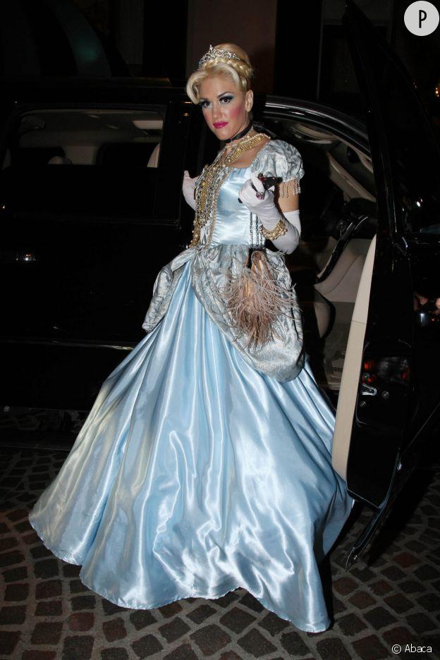Gwen Stefani, plus princesse qu'à son habitude.