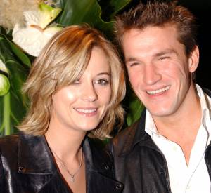 Flavie Flament et Benjamin Castaldi en 2002.