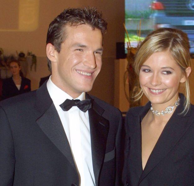 """Benjamin Castaldi et Flavie Flament, le """"couple star"""" des années 2000."""
