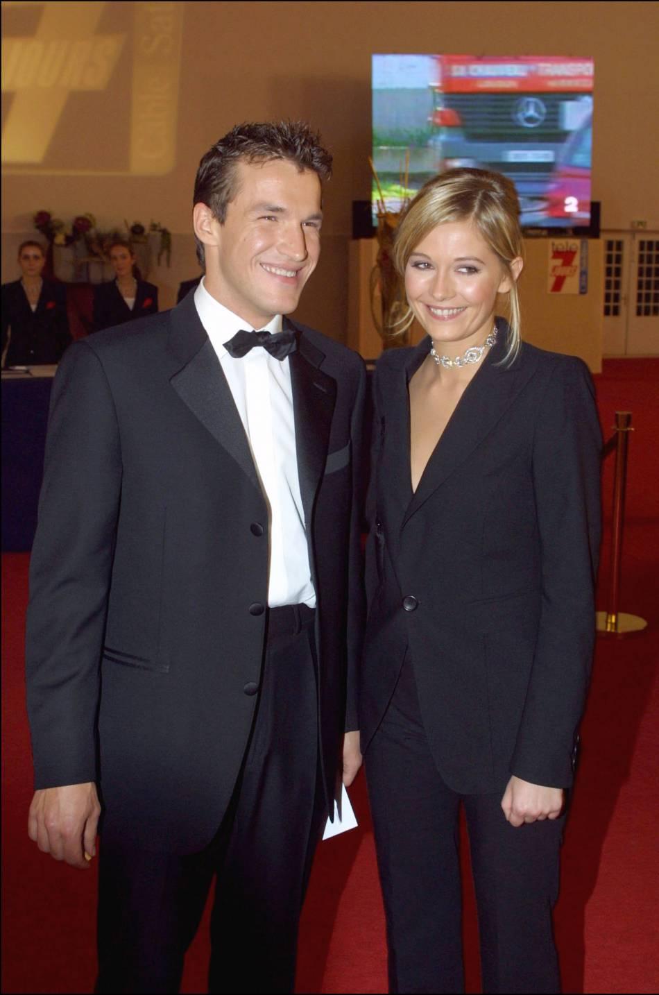 """Benjamin Castaldi et Flavie Flament, le """" couple star """" des années 2000."""