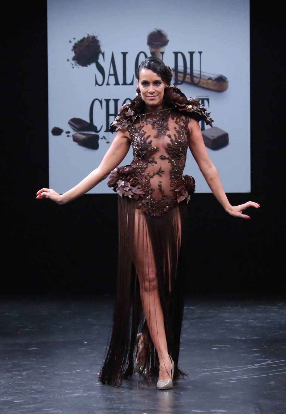 La bombe sexuelle du salon du chocolat, c'était Karine Lima !