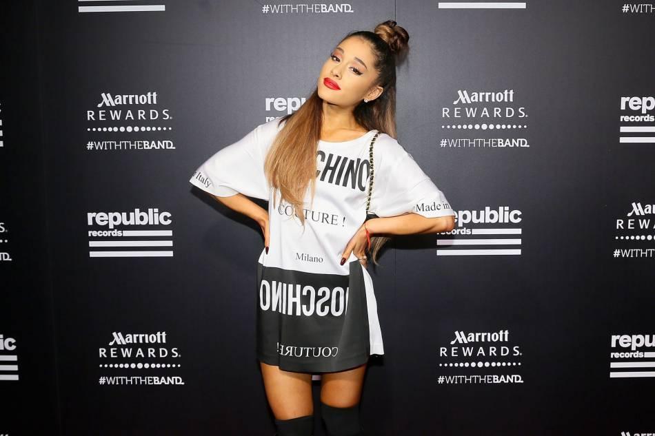 Ariana Grande devient égérie MAC.