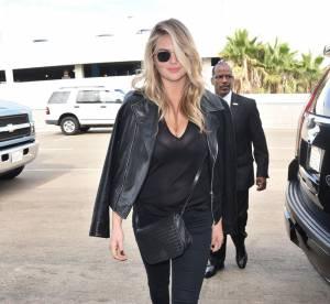 Kate Upton : un total look noir à copier pour l'automne !