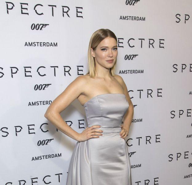 """Léa Seydoux à la première de """"Spectre"""" à Amsterdam le 28 octobre 2015."""