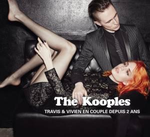 The Kooples offre des campagnes glamour et rock'n'roll.